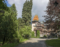 Pelesh-Burghof Stockbild