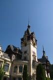 Pelesh Palace in Romania Stock Image