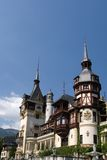 Pelesh Palace in Sinaia Royalty Free Stock Images