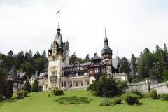 Peleshkasteel - de Roemeense woonplaats van de konings` s zomer royalty-vrije stock foto