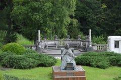 Peleshkasteel in Roemenië - een mening van de tuin royalty-vrije stock fotografie