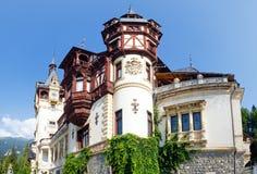 Peleskasteel (Roemenië) Royalty-vrije Stock Afbeelding