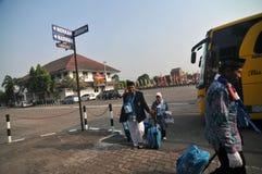 Pelgrims van Indonesië Stock Afbeeldingen
