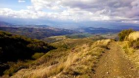 Pelgrimsroute langs Camino DE Santiago Royalty-vrije Stock Afbeelding