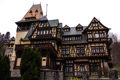 Pelişor Castle royalty free stock photography