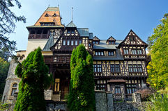 Pelișor Castle. Sinaia, Romania. Stock Photography