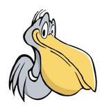 Pelican. Cartoon illustration of an pelican Royalty Free Stock Image