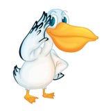 Pelican character Stock Image