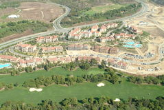 Pelican Hill Golf Course Aerial Stock Photo
