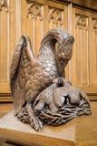 Pelican - symbol of Christ Royalty Free Stock Photo