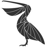 Pelican. Vector illustration (EPS 10&#x29 Royalty Free Stock Photos