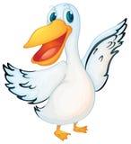 Pelicano Animated ilustração stock