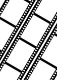 Pelicula fotografica. Filmstrip ready to be filled with pictures. Photography concept Royalty Free Stock Photography