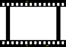 Pelicula fotografica2. Film strip ready to be filled with pictures. Photography concept Royalty Free Stock Photo