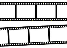 Pelicula fotografica3. Film strip ready to be filled with pictures. Photography concept Royalty Free Stock Image