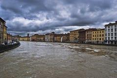 Peligro de la inundación Imagen de archivo