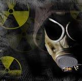 Peligro de la radiación Fotografía de archivo