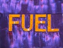 Peligro del combustible Fotos de archivo libres de regalías