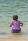 Peligro en el borde de las aguas Foto de archivo libre de regalías