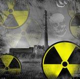 Peligro nuclear Fotos de archivo libres de regalías