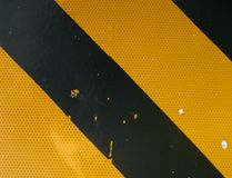 Peligro/señal de peligro Imagen de archivo