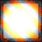 Peligro, señal de peligro Fotografía de archivo libre de regalías