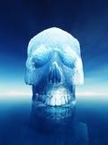 Peligros del iceberg Imagenes de archivo