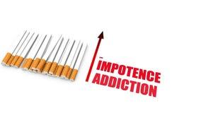 Peligros para la salud de fumar libre illustration