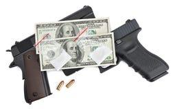 Peligros y recompensas de tráficos de droga Foto de archivo libre de regalías