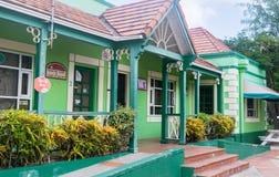 Pelikan-Handwerks-Mittegebäude, Bridgetown, Barbados Lizenzfreie Stockfotos