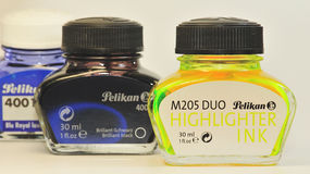 Pelikan ink 2 Stock Image