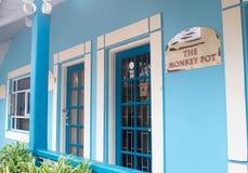 Pelikana rzemiosła Centre wykonuje ręcznie budynek, Bridgetown, Barbados Zdjęcia Stock