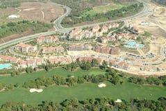 Pelikana wzgórza pola golfowego antena Zdjęcie Stock