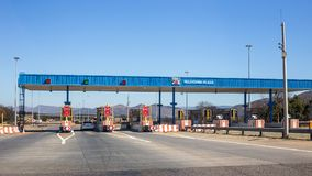 Pelindaba广场在南非 免版税库存照片