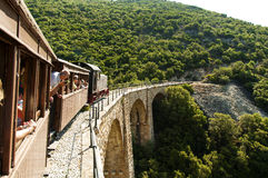 Pelion pociąg, Grecja Zdjęcia Stock