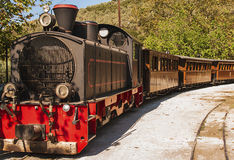Pelion train, Greece Royalty Free Stock Photo