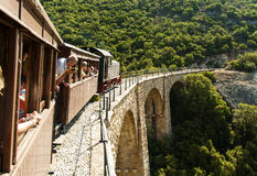 Pelion train, Greece Stock Photo