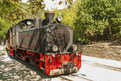 Pelion train, Greece Royalty Free Stock Images