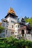 Pelișor Castle. Sinaia, Romania. Stock Photos