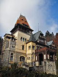 Pelisor Castle Stock Image