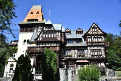 Pelisor Castle Στοκ Εικόνα
