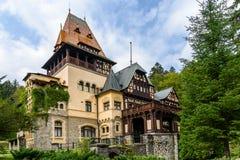 Pelisor Castle Royalty Free Stock Photography
