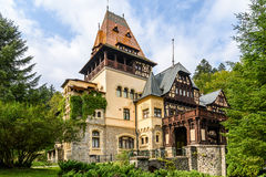 Pelisor Castle Royalty Free Stock Images