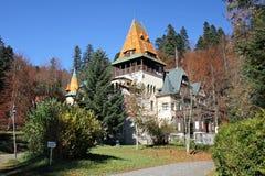 Pelisor Castle Stock Images