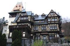 Pelisor Castle Royalty Free Stock Photos