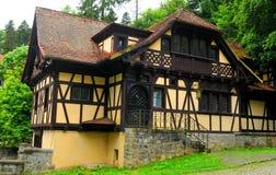 Pelisor castle in Romania Royalty Free Stock Photo