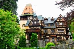 Pelisor castle in Romania Stock Photography