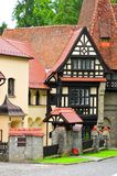 Pelisor castle in Romania Stock Photo