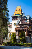 Pelisor castle in Romania Stock Photo