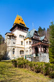 Pelisor castle in Romania Royalty Free Stock Images